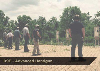 09E Advanced Handgun  | DCJS | $200