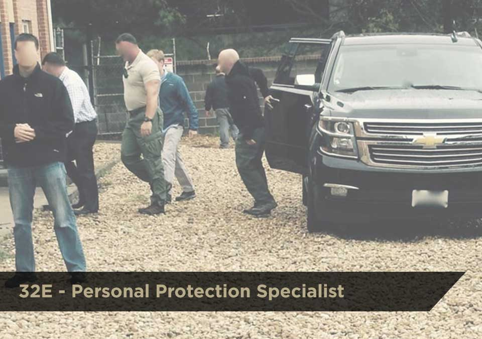 Personal Protection Specialist (032E) | DCJS Training