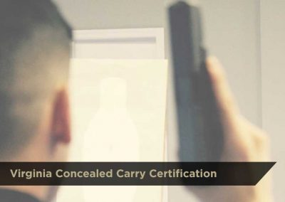 Virginia Concealed Carry Certification | $100