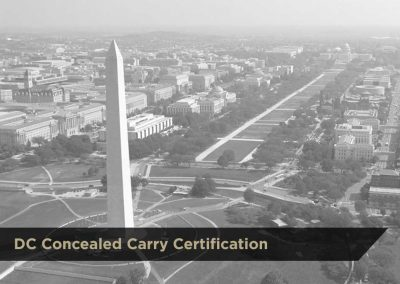 DC Concealed Carry Certification | $250