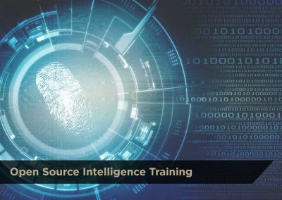 Open Source Intelligence Training | Inquire For Pricing